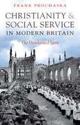 Cover for Christianity and Social Service in Modern Britain