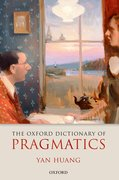 Cover for The Oxford Dictionary of Pragmatics