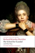 Cover for The School for Scandal and Other Plays
