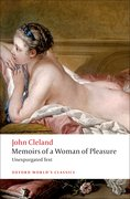 Cover for Memoirs of a Woman of Pleasure