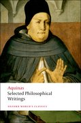 Cover for Selected Philosophical Writings - 9780199540273