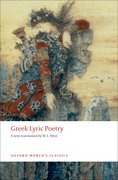 Cover for Greek Lyric Poetry