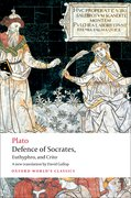Cover for Defence of Socrates, Euthyphro, Crito