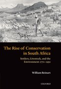 Cover for The Rise of Conservation in South Africa