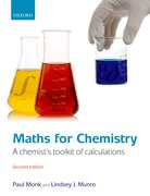 Maths for Chemistry A chemist's toolkit of calculations