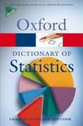 Cover for A Dictionary of Statistics