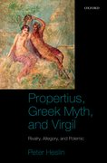 Cover for Propertius, Greek Myth, and Virgil
