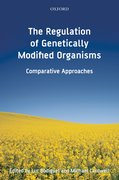 Cover for The Regulation of Genetically Modified Organisms