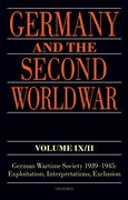 Cover for Germany and the Second World War Volume IX/II