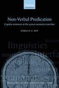 Nonverbal Predication Copular Sentences at the Syntax-Semantics Interface