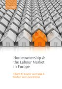 Cover for Homeownership and the Labour Market in Europe