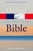 Cover for A Dictionary of the Bible, 2nd Edition