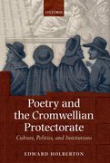 Cover for Poetry and the Cromwellian Protectorate