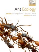 Cover for Ant Ecology