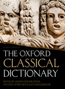 Cover for The Oxford Classical Dictionary