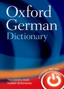 Cover for Oxford German Dictionary