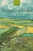 Cover for The Quality of Freedom