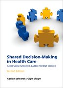 Cover for Shared decision-making in health care