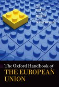 Cover for The Oxford Handbook of the European Union