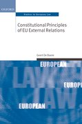 Cover for Constitutional Principles of EU External Relations