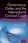 Cover for Governance, Order, and the International Criminal Court