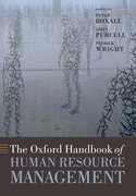 Cover for The Oxford Handbook of Human Resource Management