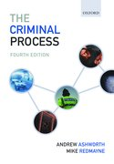 Cover for The Criminal Process