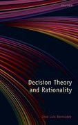 Cover for Decision Theory and Rationality