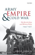 Cover for Army, Empire, and Cold War