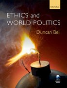 Cover for Ethics and World Politics