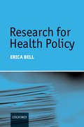 Cover for Research for Health Policy