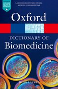 Cover for A Dictionary of Biomedicine