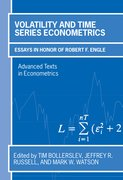Cover for Volatility and Time Series Econometrics