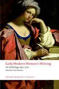 Cover for Early Modern Women