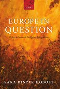 Cover for Europe in Question