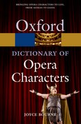 Cover for A Dictionary of Opera Characters