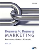 Cover for Business to Business Marketing