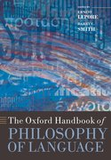 Oxford Handbook of Philosophy of Language Cover Image