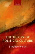 Cover for The Theory of Political Culture