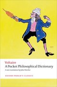 Cover for A Pocket Philosophical Dictionary