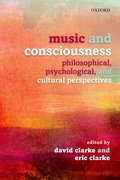 Cover for Music and Consciousness