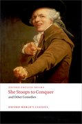 Cover for She Stoops to Conquer and Other Comedies
