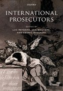 Cover for International Prosecutors