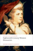 Cover for Eighteenth-Century Women Dramatists