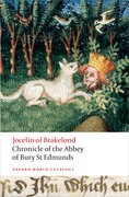 Cover for Chronicle of the Abbey of Bury St. Edmunds