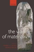 Cover for The Waning of Materialism