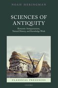 Cover for Sciences of Antiquity