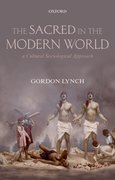 Cover for The Sacred in the Modern World