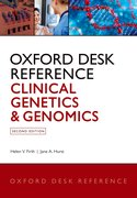 Cover for Oxford Desk Reference: Clinical Genetics and Genomics