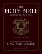 King James Bible 400th Anniversary Edition